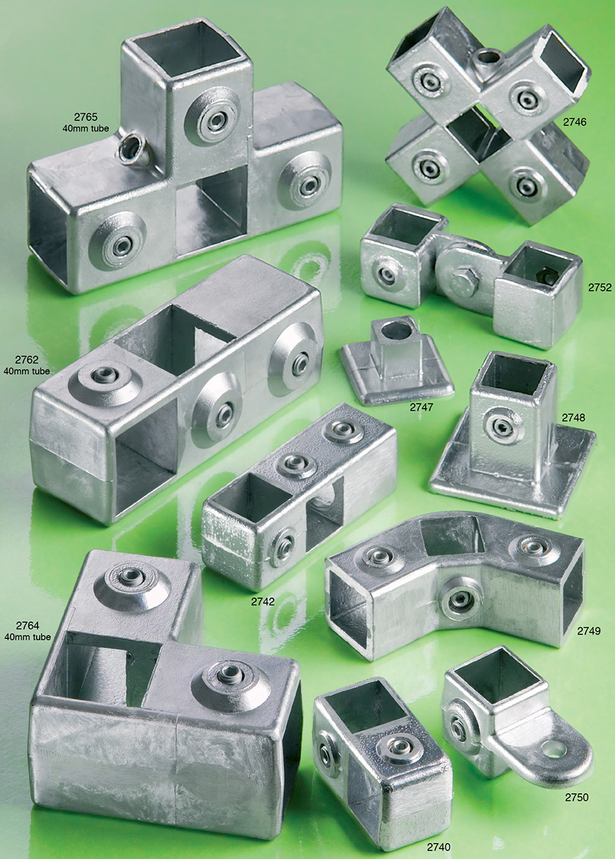 Square tube clamping connectors | Flexliner | Tube Connectors